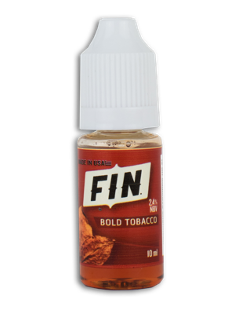 FIN E-Liquid 10ML Bottle Bold Tobacco
