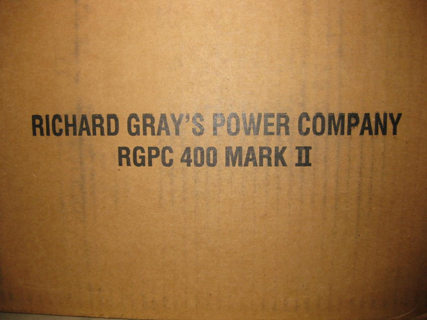 Richard Grey 400s