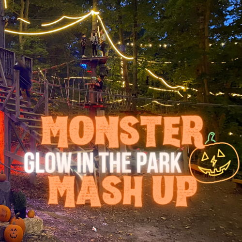 Picture of Looking for a fab-BOO-lous way to celebrate Halloween?  Join us for our Monster Mash Up Glow in the Park!