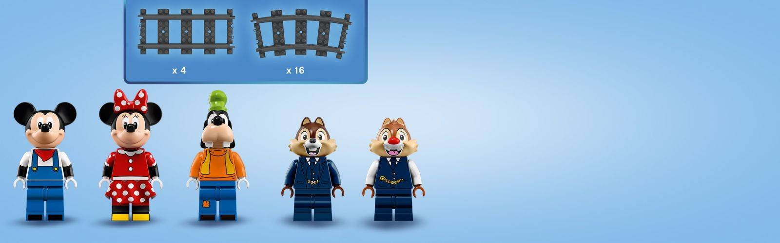LEGO Disney Train And Station 71044 Minifigures