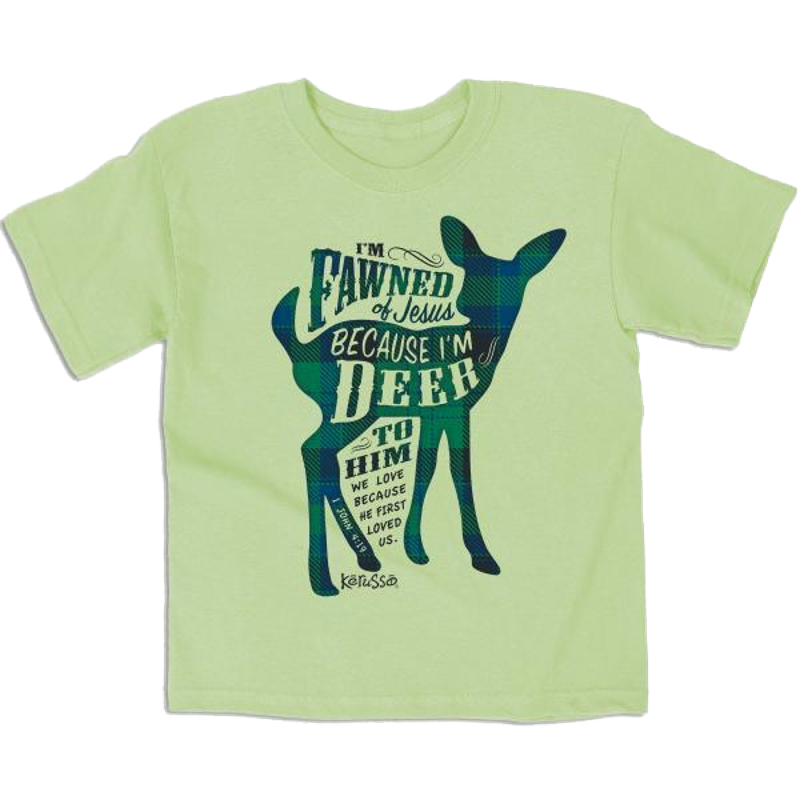 I'm Fawned Of Jesus Kids Christian T-Shirt ™