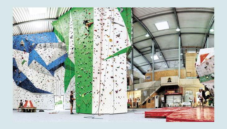 bg kletterfabrik panorama halle
