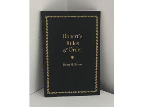 Robert's Rules of Order (#1)