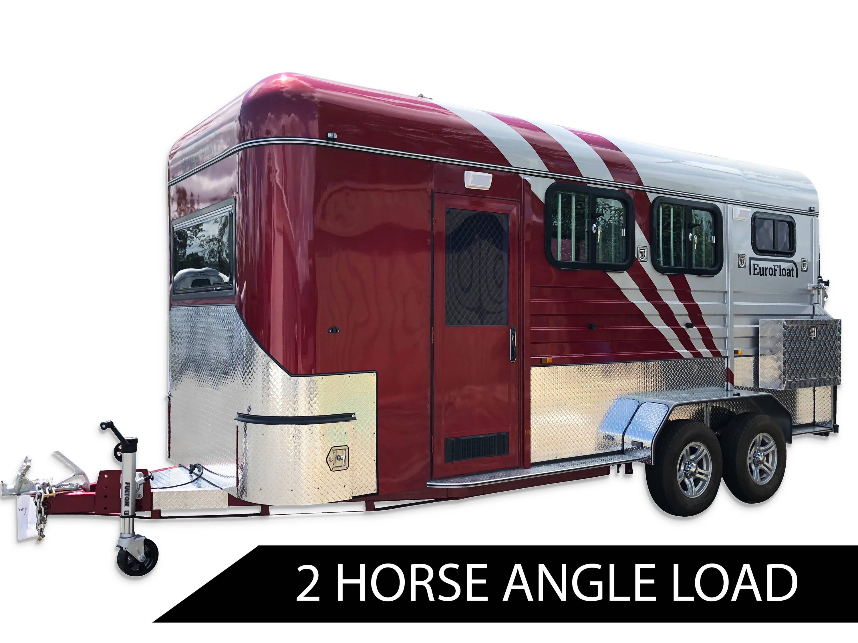 2 Horse Angle Load Floats