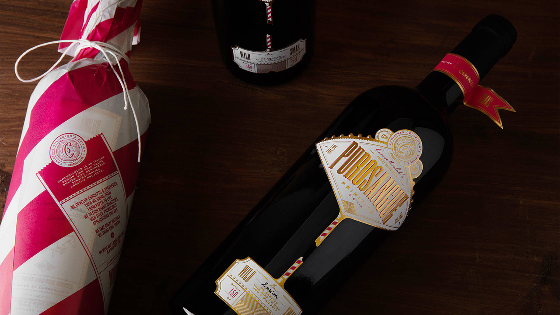 Wine Christmas Packaging.Live Free And Think Wild With Regal Packaging For Purosangue