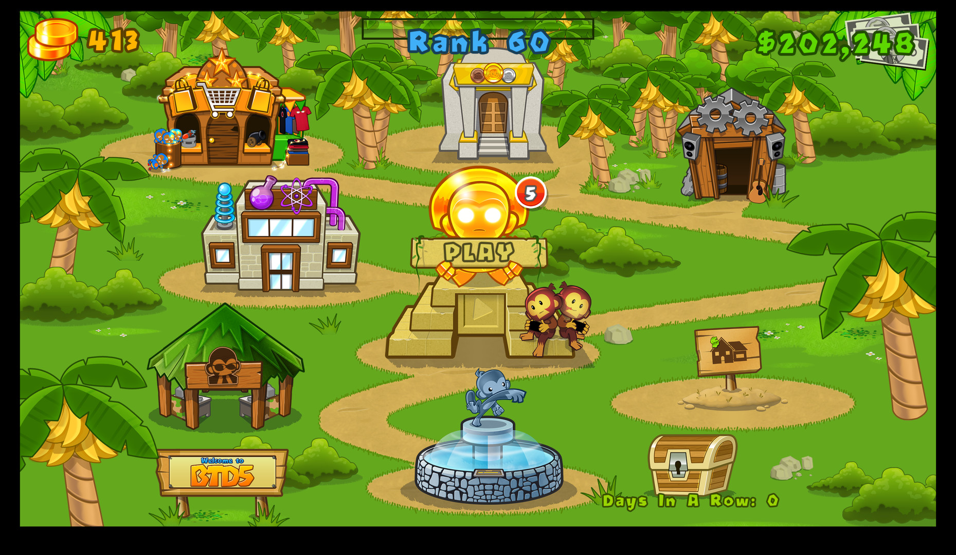 bloons td 5 free ios