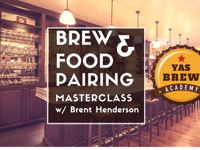 BREW & FOOD PAIRING MASTERCLASS image