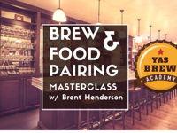 صورة BREW & FOOD PAIRING MASTERCLASS