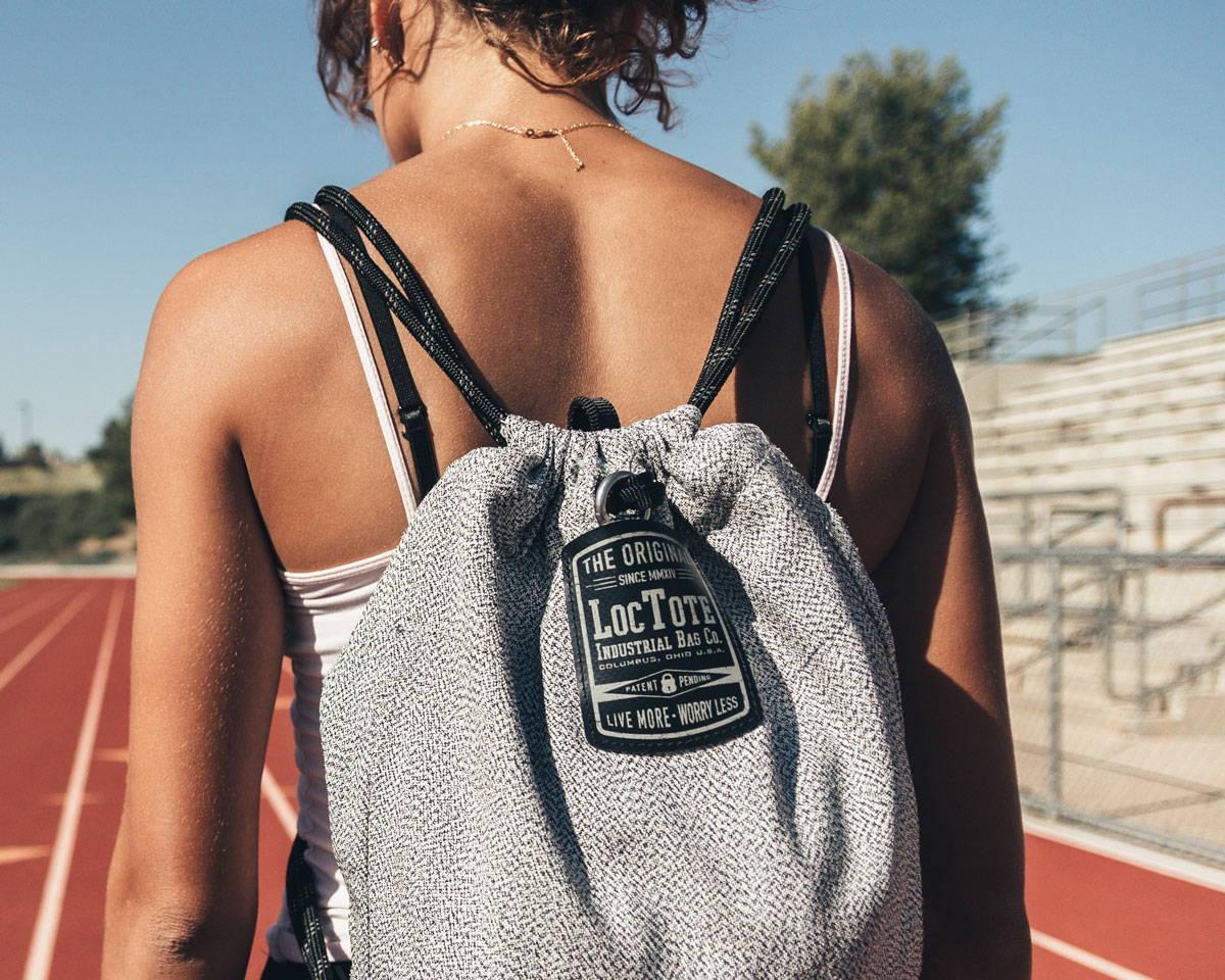 Flak Sack SPORT - Anti-theft Drawstring Backpack