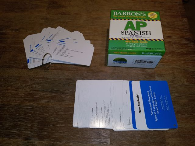 RENTERS BAY: Spanish Flash Cards