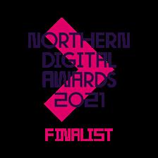 Nda 2021 finalist badge