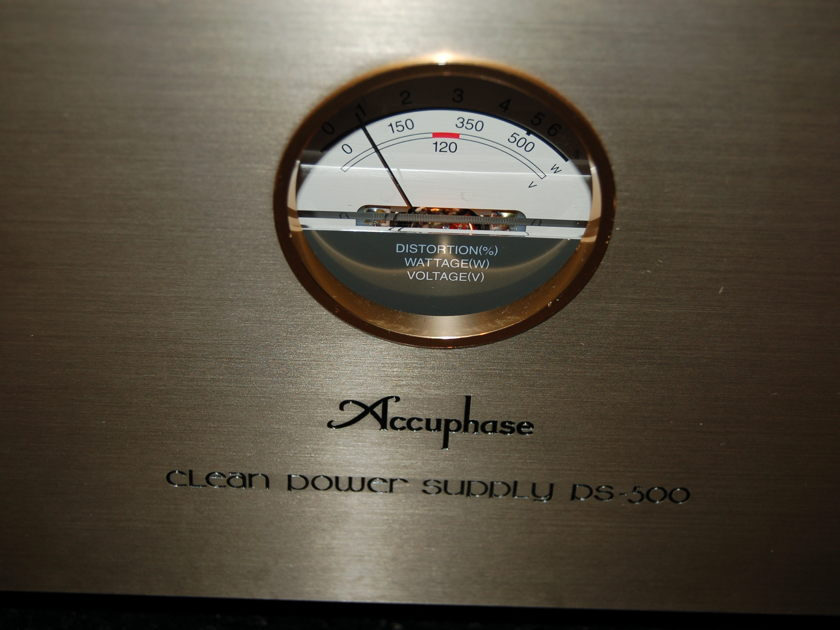 Accuphase power conditioner PS-500 manual + power cord