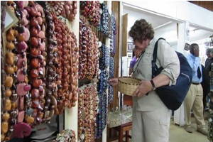 Visit colorful market in Nairobi