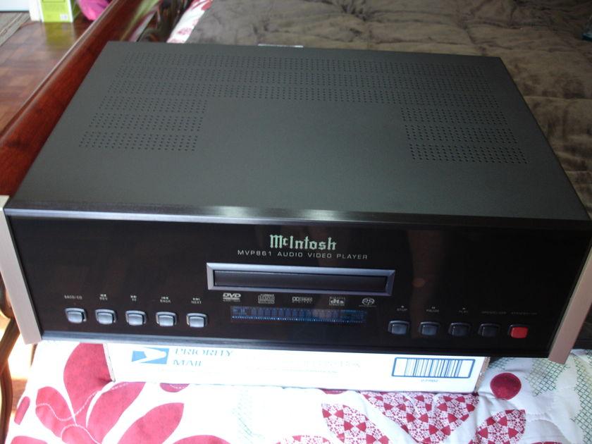 Mcintosh Mvp 861 with upgrade company  signature edition upgrade