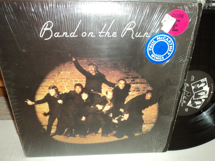 Paul McCartney - Band On The Run (w/poster) NM