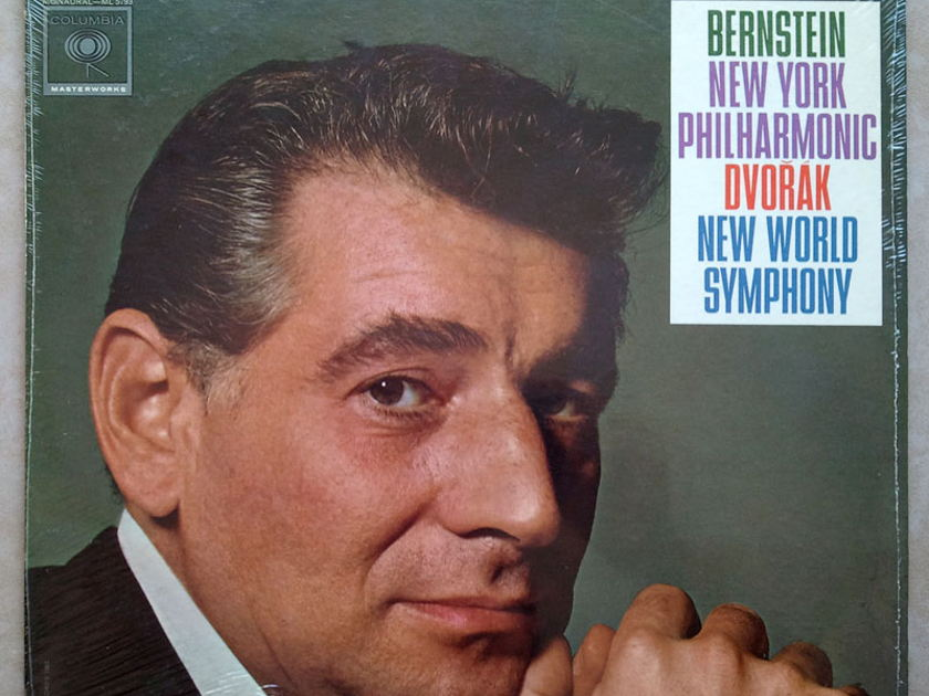 "SEALED/Columbia 2-eye/Bernstein/Dvorak - Symphony No.9 "" From the New World"""