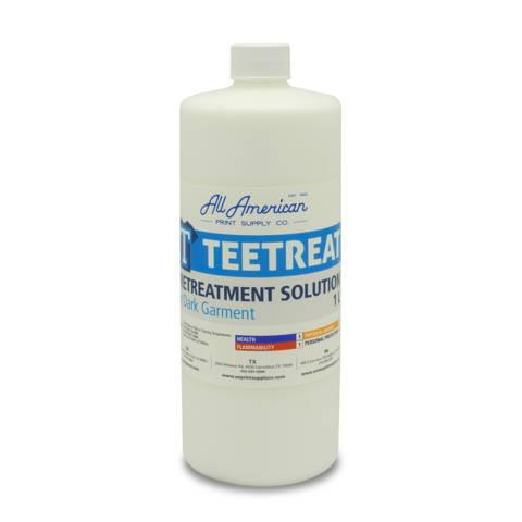 TeeTreat DTG Pretreatment Solution for Dark Garments 1 Liter