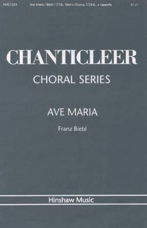 Ave Maria TTBB+TTB trio - Franz Biebl