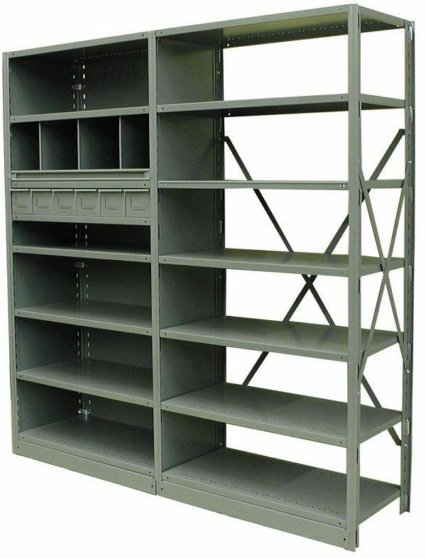 étagères metalware shelving
