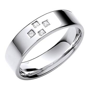 Milgrain edge eternity ring Pobjoy Diamonds  Surrey