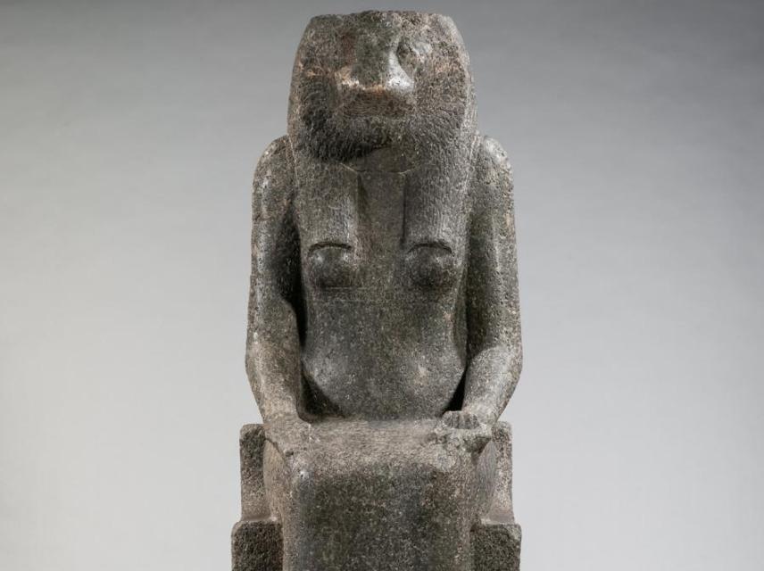 Statue of Sekhmet, emuseum: 2005.1.28