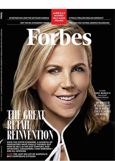 Forbes Magazine Cover Nov 2020. Names VENeffect The New Generation of Beauty