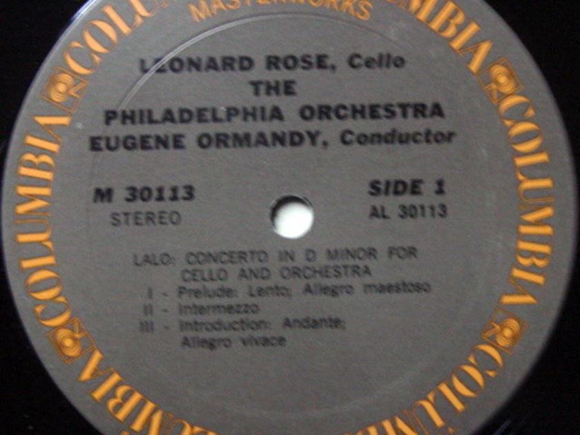 Columbia / ROSE-ORMANDY, - Saint Saens-Lalo Cello Concertos, MINT!