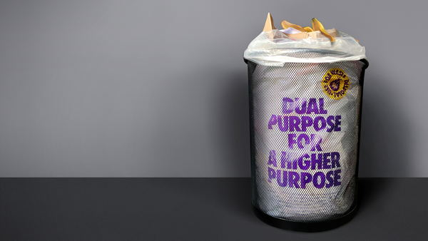 Dual purpose for a higher purpose packaging