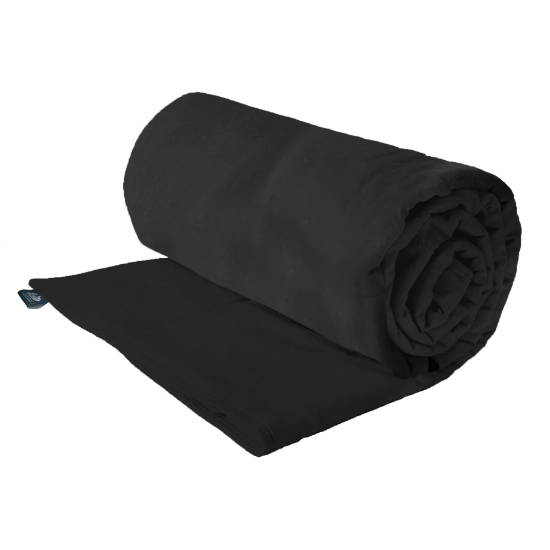 Vinyl weighted blanket for a dog