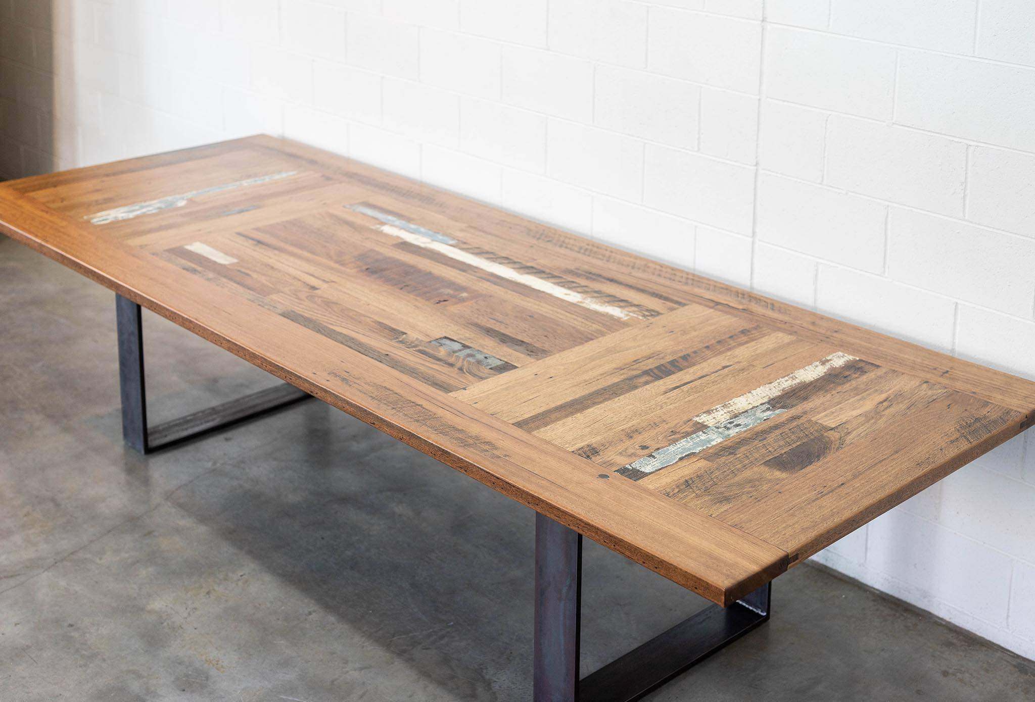 Triple Panel Boardroom Table