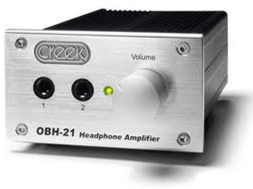 Creek OBH-21 & OBH-2 Headphone Amp Amplifier