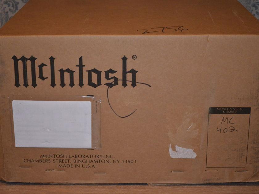 McIntosh MC-402 Amplifier