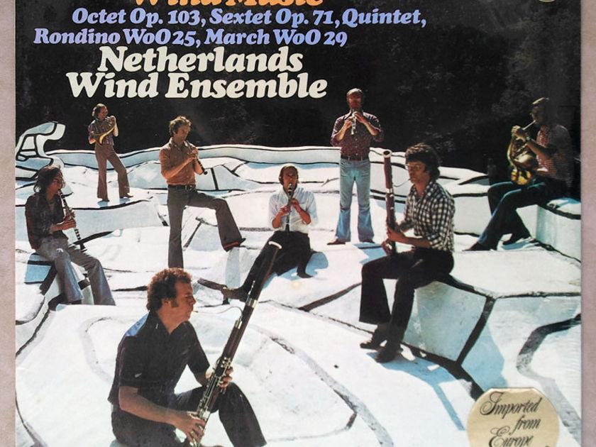 SEALED Philips/Netherlands Wind Ensemble/Beethoven - Octet, Sextet, Quintet, Rondino, March