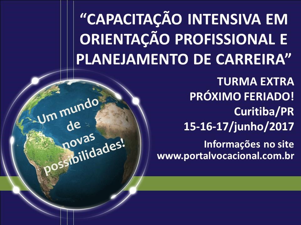 Capacitação Intensiva Orientação Profissional e Planejamento de Carreira - Curitiba