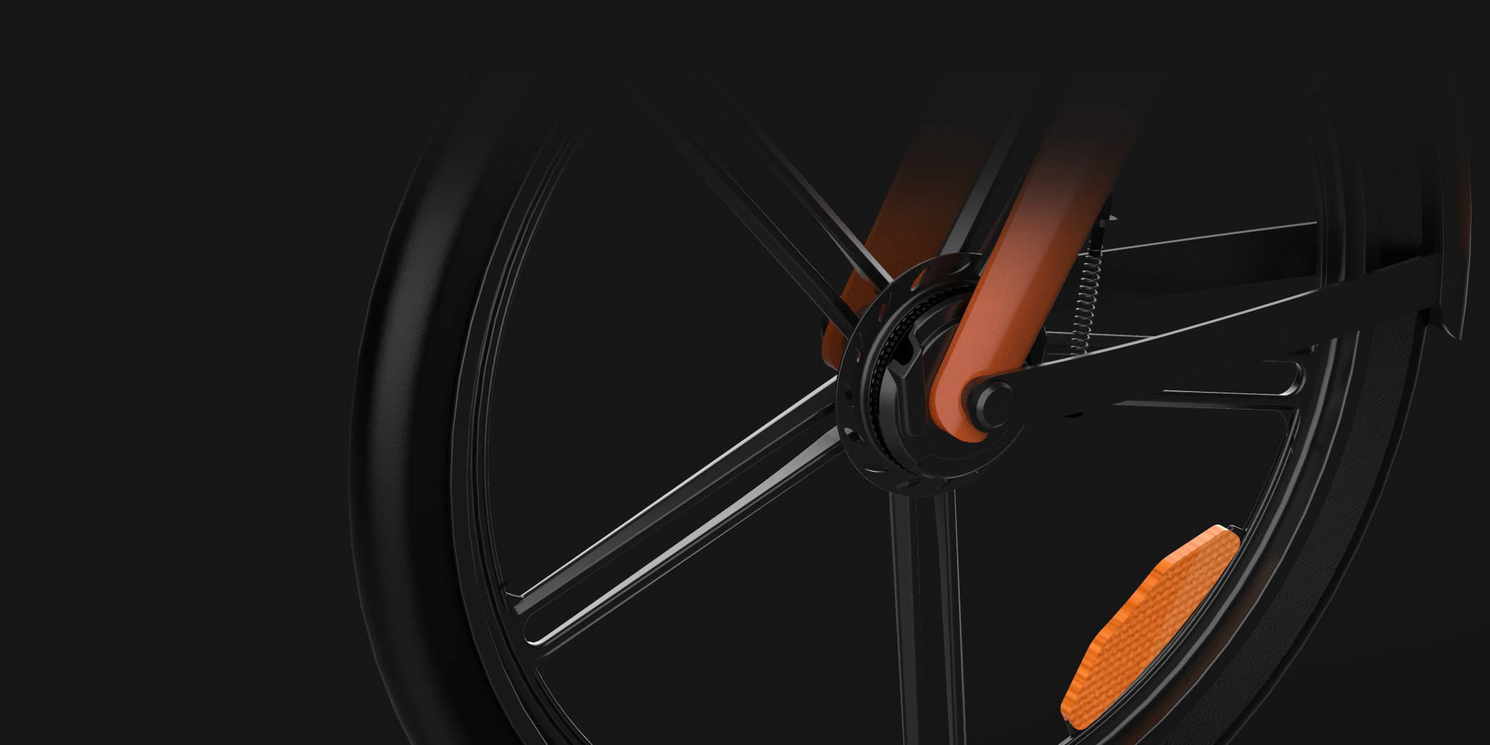 Okai Micromobility Manufacturer, EB100 Electric Bike Front Brake