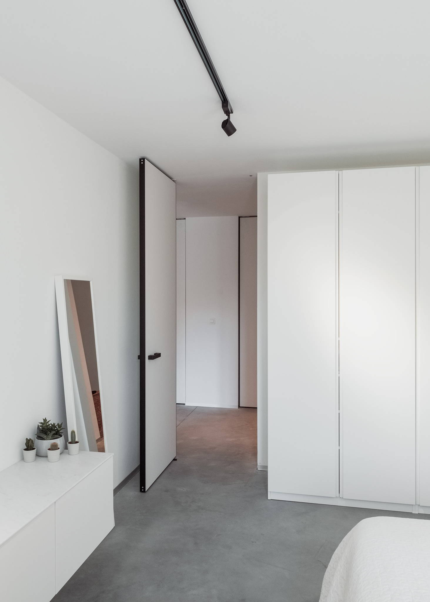 Pivot door with Stealth Pivot NL