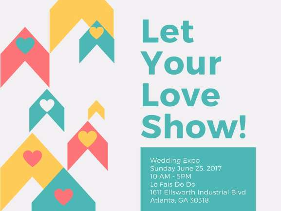 Let Your Love Show! Wedding Expo