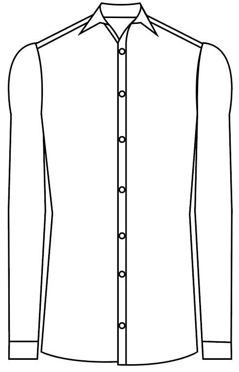 TailorMate | skræddersyet skjorte i moderne fit