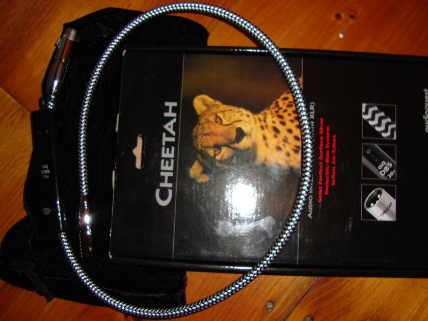 Audioquest Cheetah 1 meter xlr single