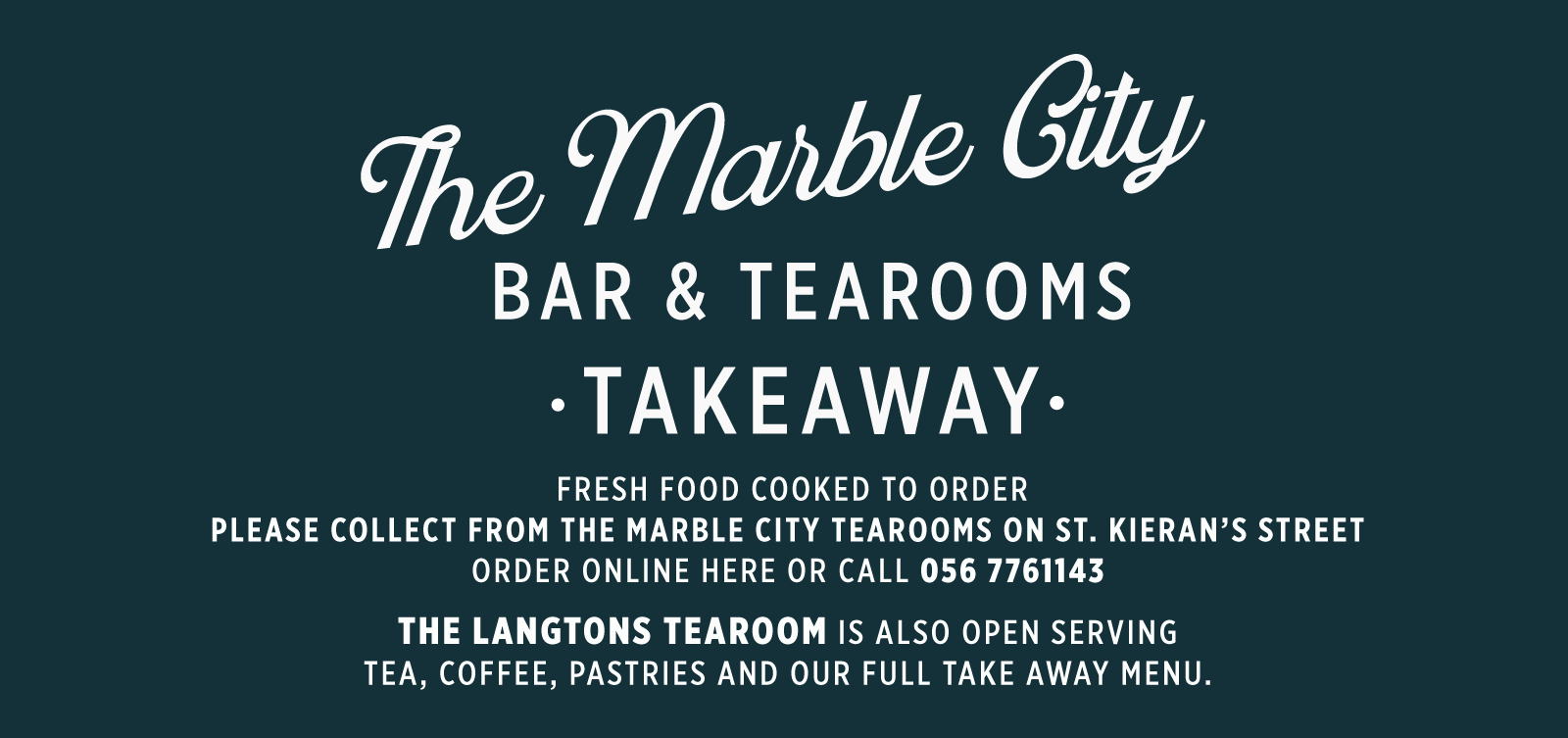 Logo - The Marble City Bar & Tearooms
