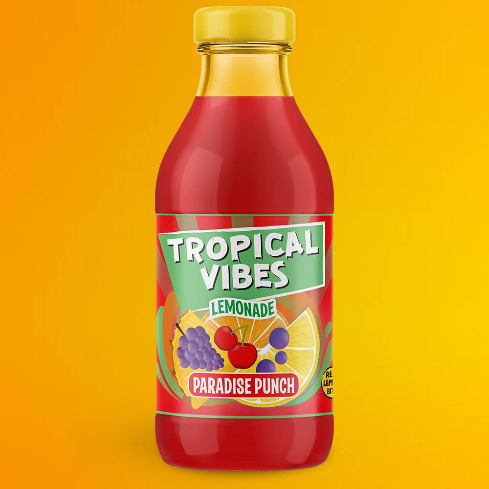 tropical vibes paradise punch lemonade