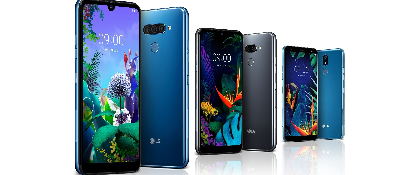 Három új középkategóriás okostelefont mutat be az LG