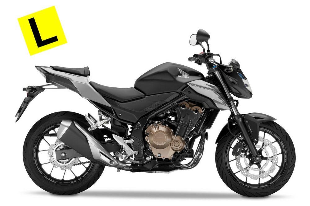 2017 HONDA MOTORCYCLES CB500F