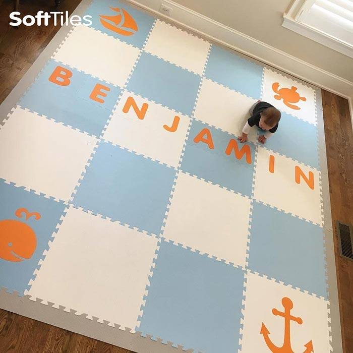 SoftTiles Personalized ABC Mats