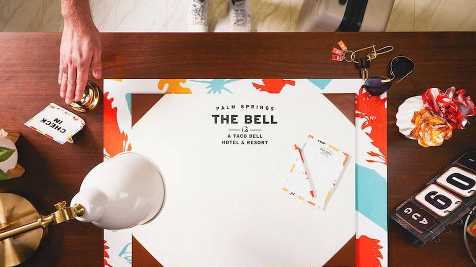 Spend Your Summer Poolside at The Bell: A Taco Bell Hotel