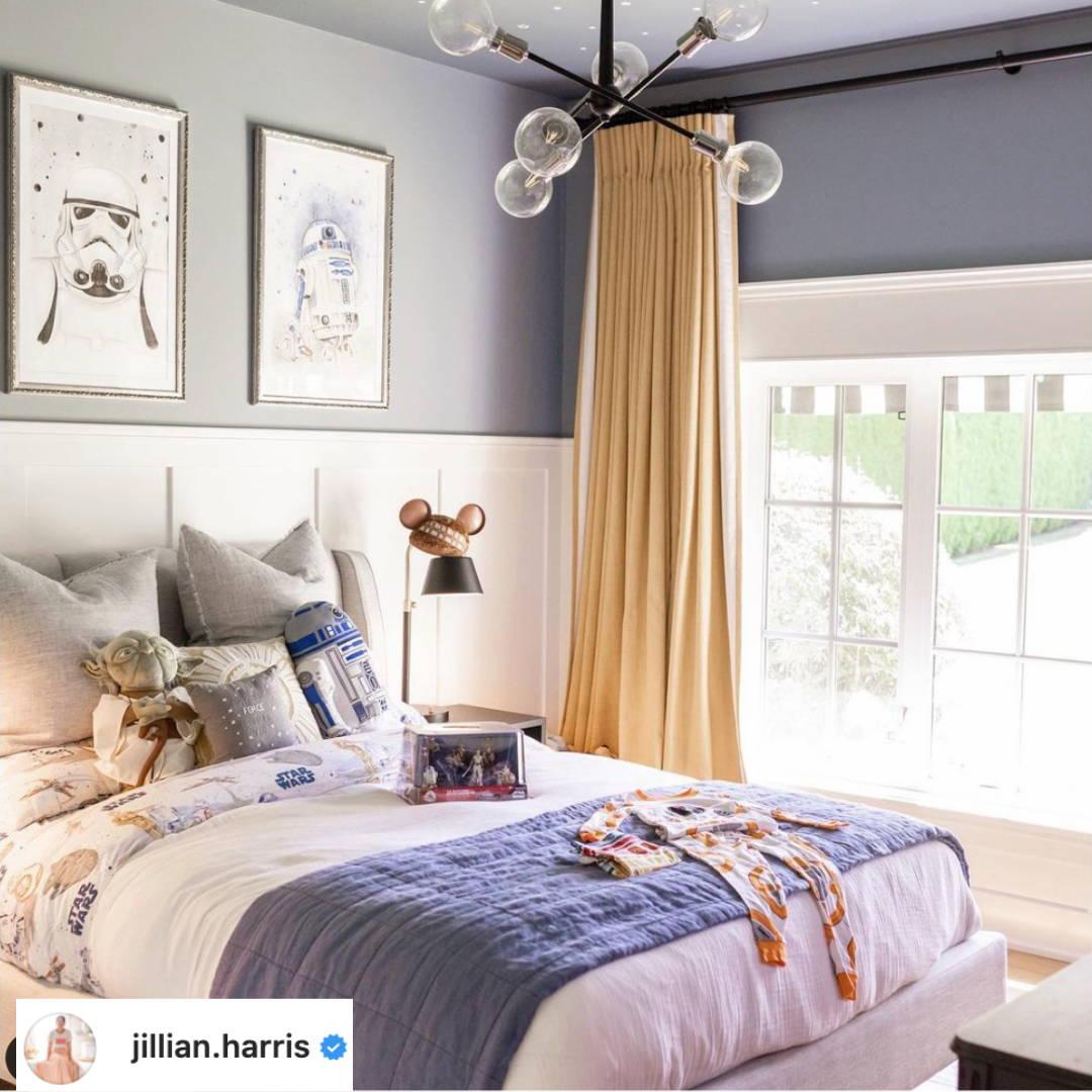 Jillian Harris kids room featuring a Haven mattress