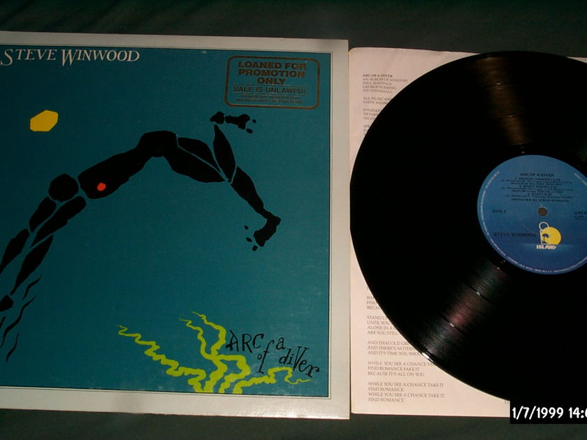 Steve Winwood - Arc Of A Diver LP NM