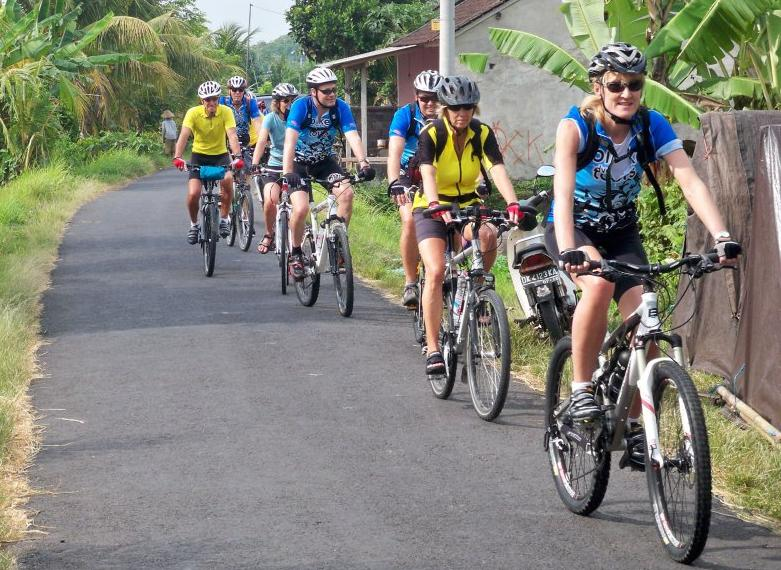 Bike Tour Through The Balinese Countryside Activity In Bali