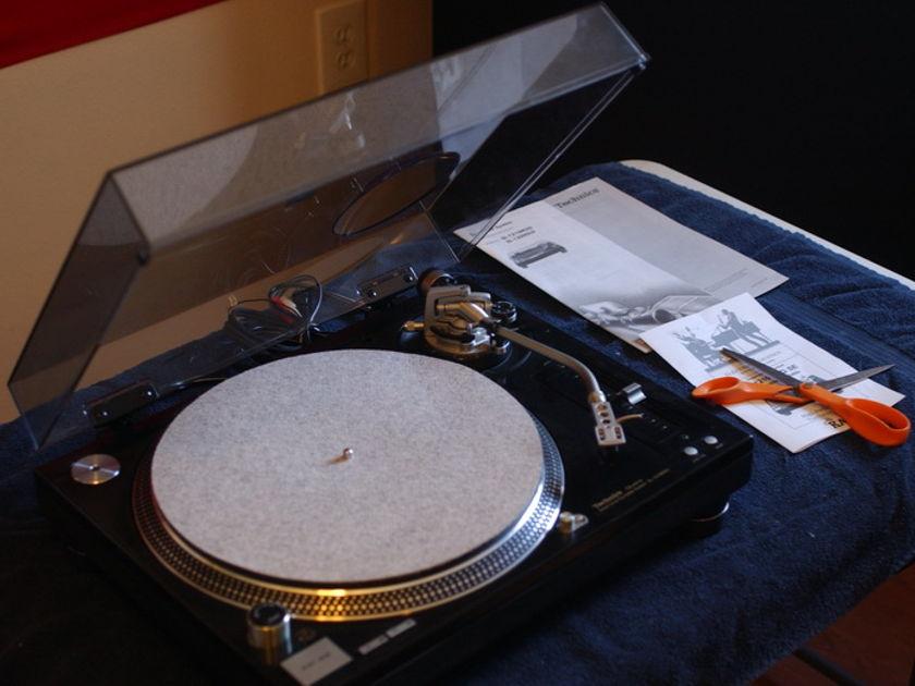 Technics SL-1210M5G SE KAB audiophile turntable
