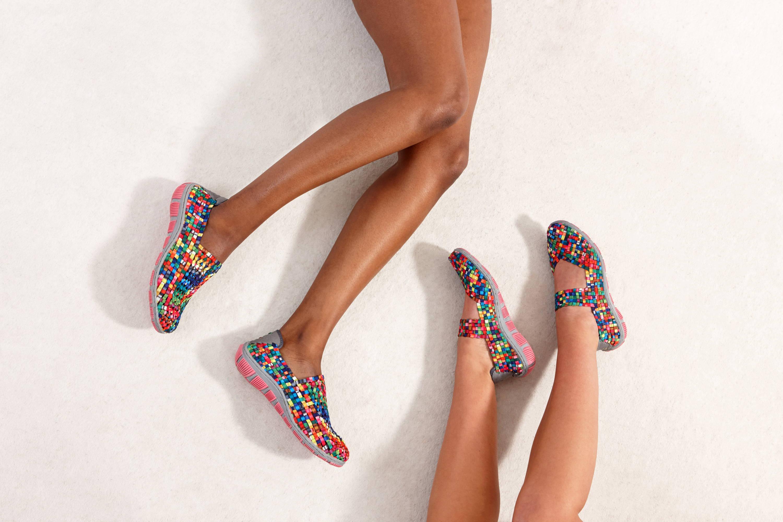 Adesso Layla Lottie Tutti Frutti 2 Elastic Shoes